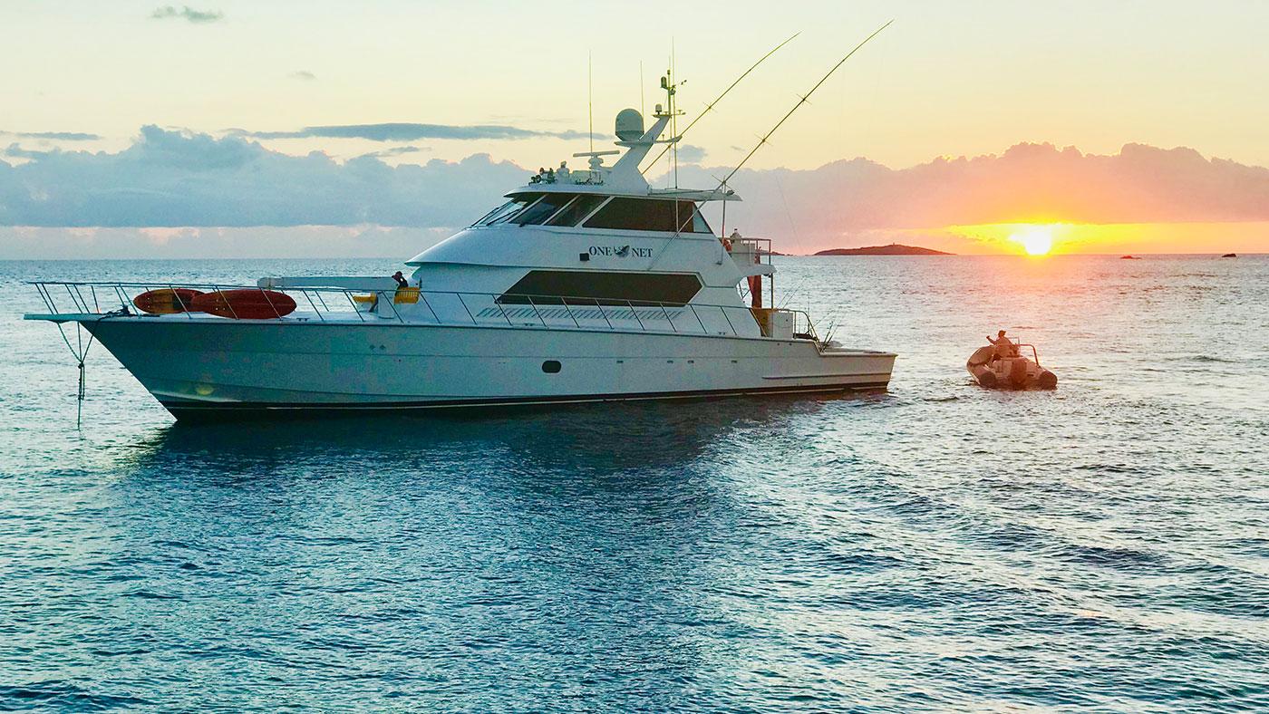 OneNet Luxury Yacht Fishing Charter in BVI